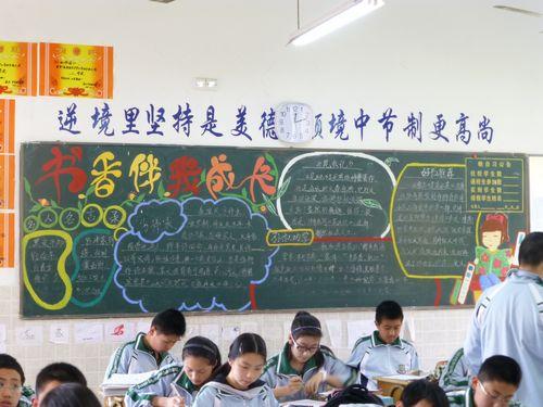 初中学校黑板报_初中学校安全黑板报